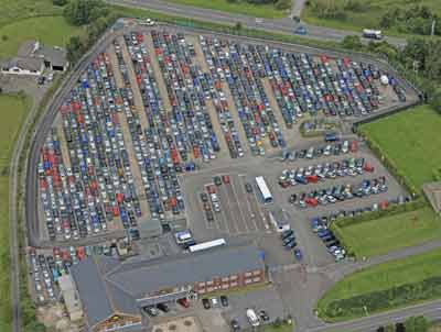 Airparks Cardiff airport parking