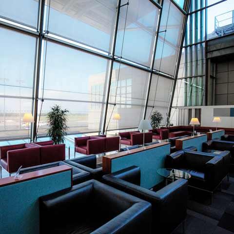 Hamburg Airport Lounge