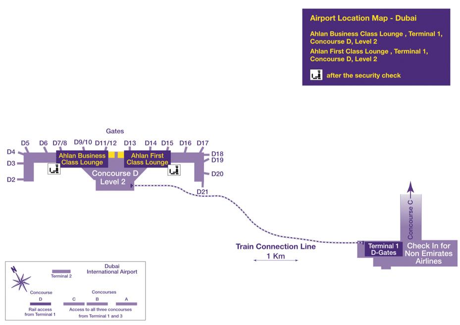 Dubai Airport Lounge | Zugang inkl. Wifi und Verpflegung buchen on