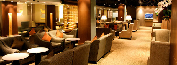 Lounge der Thai Airways