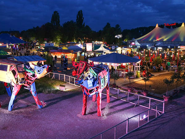 Tollwood in Muenchen