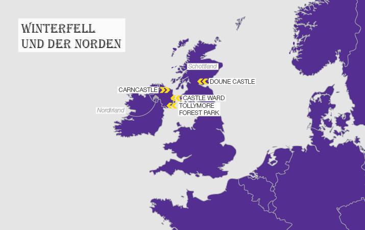 Got Karte Norden.Game Of Thrones Drehorte Holiday Extras Reiseblog