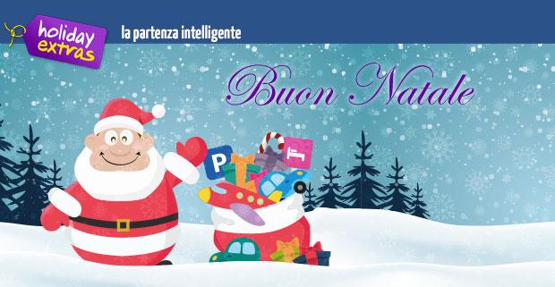 Novità - Holiday Extras vi augura Buon Natale (25.12.2016)