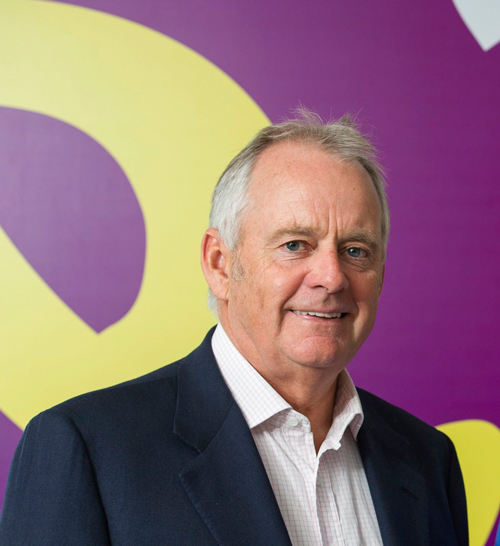 Holiday Extras Executive Chairman Gerry Pack