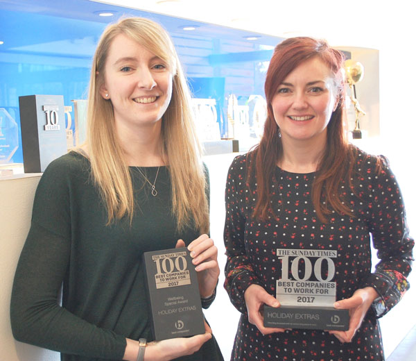 Sunday Times 100 Best Companies To Work For 2017