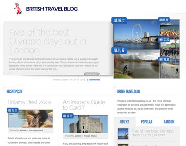 British Travel Blog