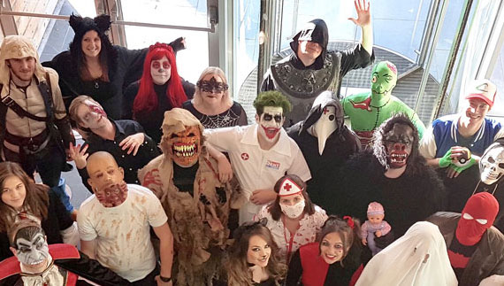 Spooky fundraiser at HOLIDAY EXTRAS