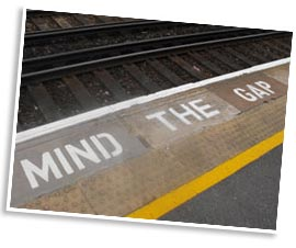 Mind the gap at westenhanger