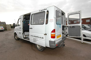 Airparks Cardiff Van