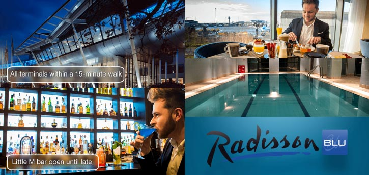 The Radisson Blu Manchester Airport Hotel Interior and Exterior