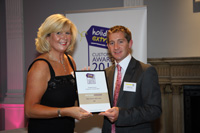 Jet2 won the Bronze Award Best Airline Cabin Crew at theHoliday Extras Customers' Awards 2010