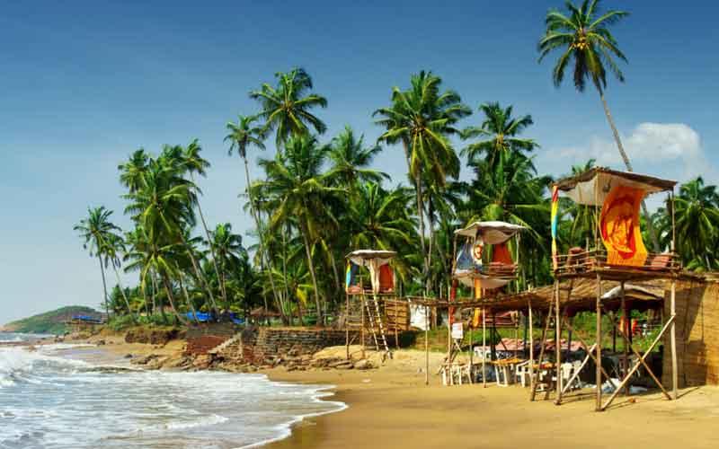 Cheap backpacking destinations, Goa, India