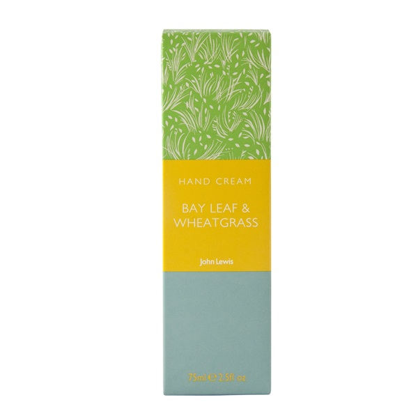 Travel size toiletries, John Lewis hand cream