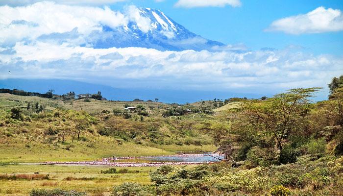 Танзани дахь Меру уул