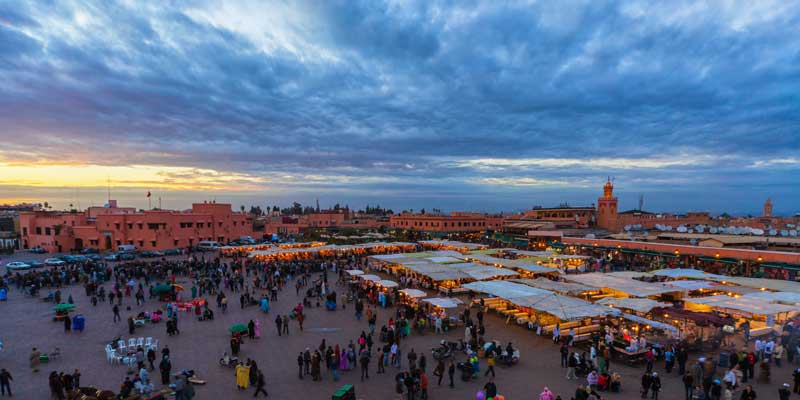 Marrakech, Morocco in October