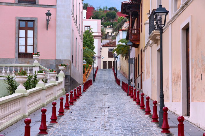 street in Tenerife