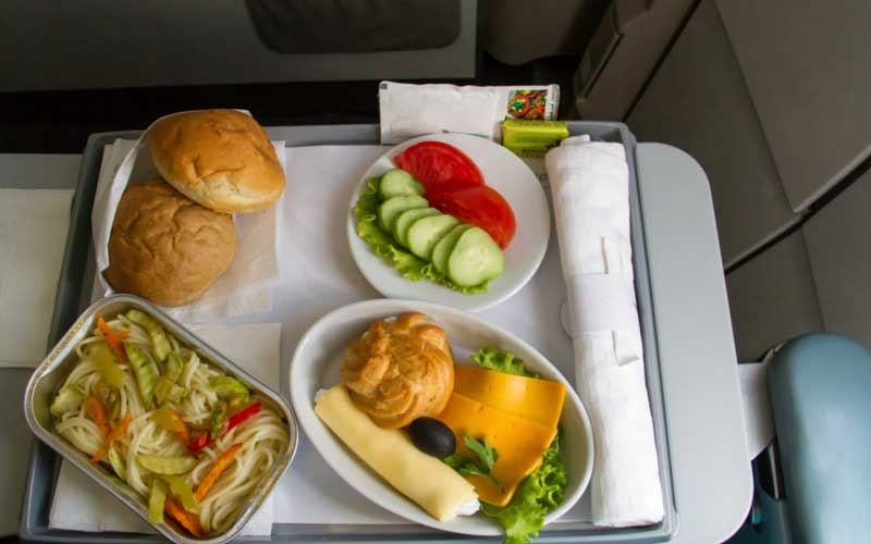 Food Menu On Emirates Flights