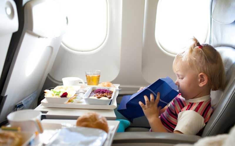 Airline meal for children