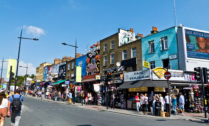 Camden town, London.