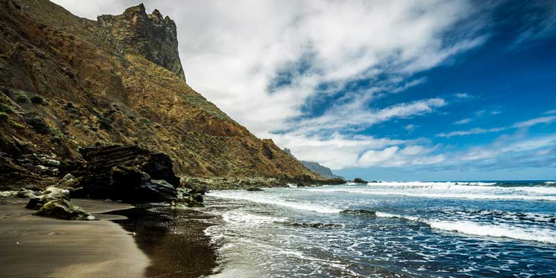 Beach in the Canary Islands