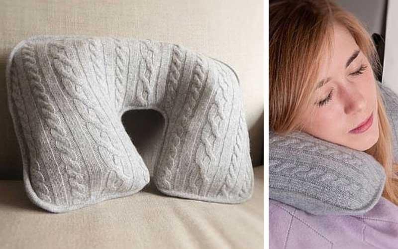 Cashmere Travel Neck Pillow
