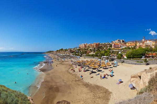 Coastal beach Tenerife