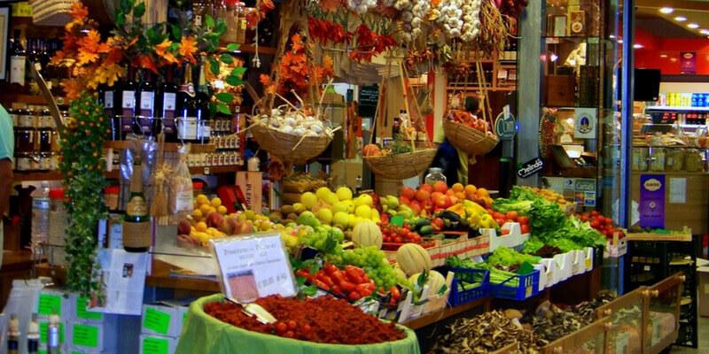 Florence market groundfloor