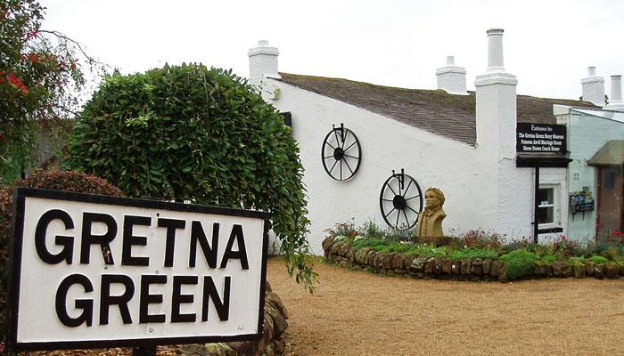 Gretna Green.