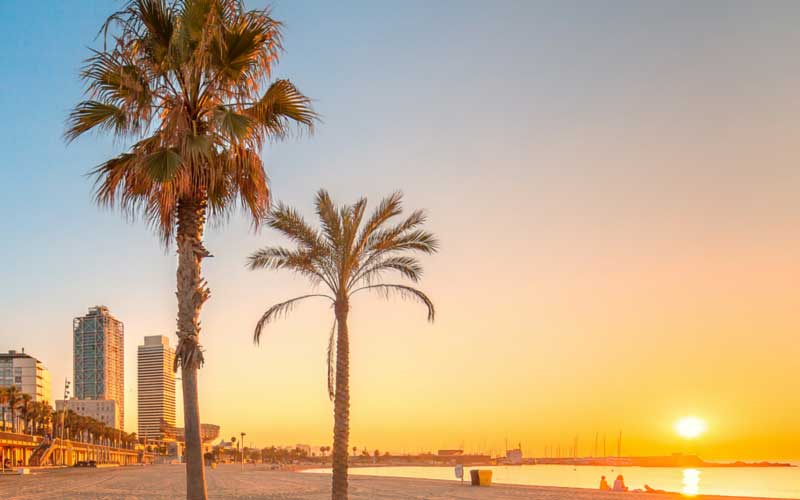 Barcelona, Spain beach