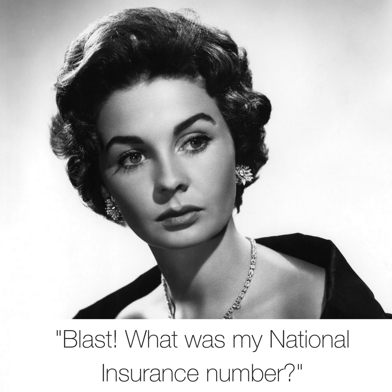 national insurance number retro