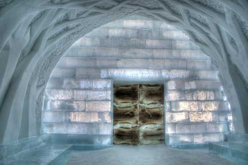 Unusual holidays, Sweden ice hotel