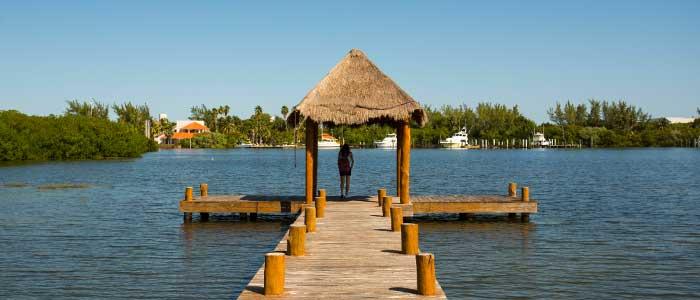 Isla Mujeres jetty