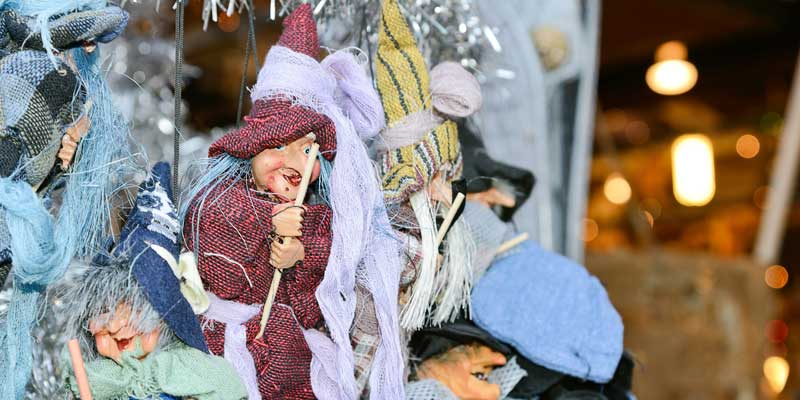 Befana tradition in Italy