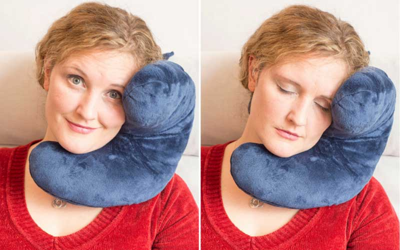 J-pillow Travel Cushion