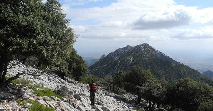 Hiking in Mallorca.