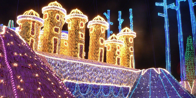 Christmas lights in Medellin - The Best Christmas Lights Around The World
