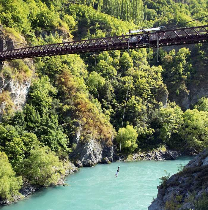 New Zealand, Bungee.
