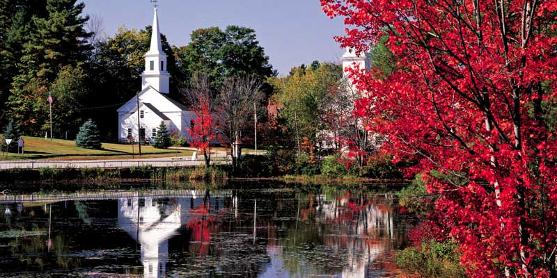 New Hampshire in October