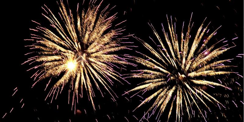 Luminara Festival fireworks