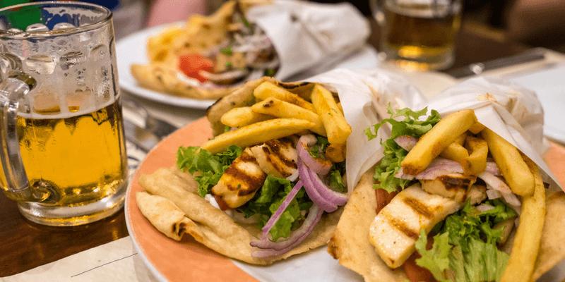 Food in Rhodes
