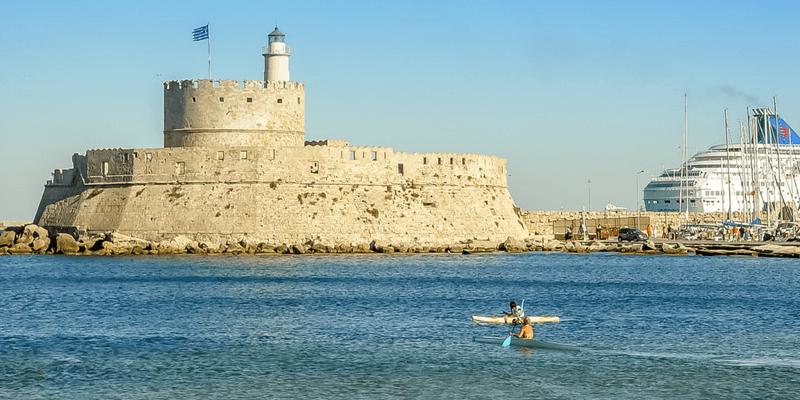 Kayak in Rhodes