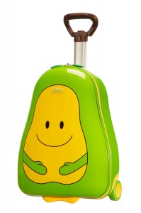 Best children's luggage, Samsonite Sammies pear