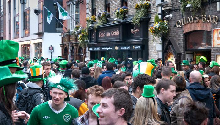 Celebrate St Patrick S Day In Dublin Ireland