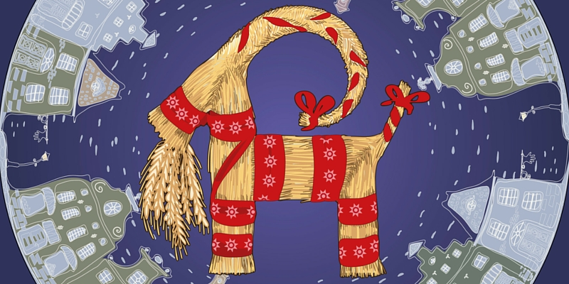 Finland Christmas Goat.Unusual Christmas Traditions From Around The World