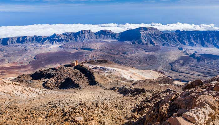 Views from Atop Mt. Teide