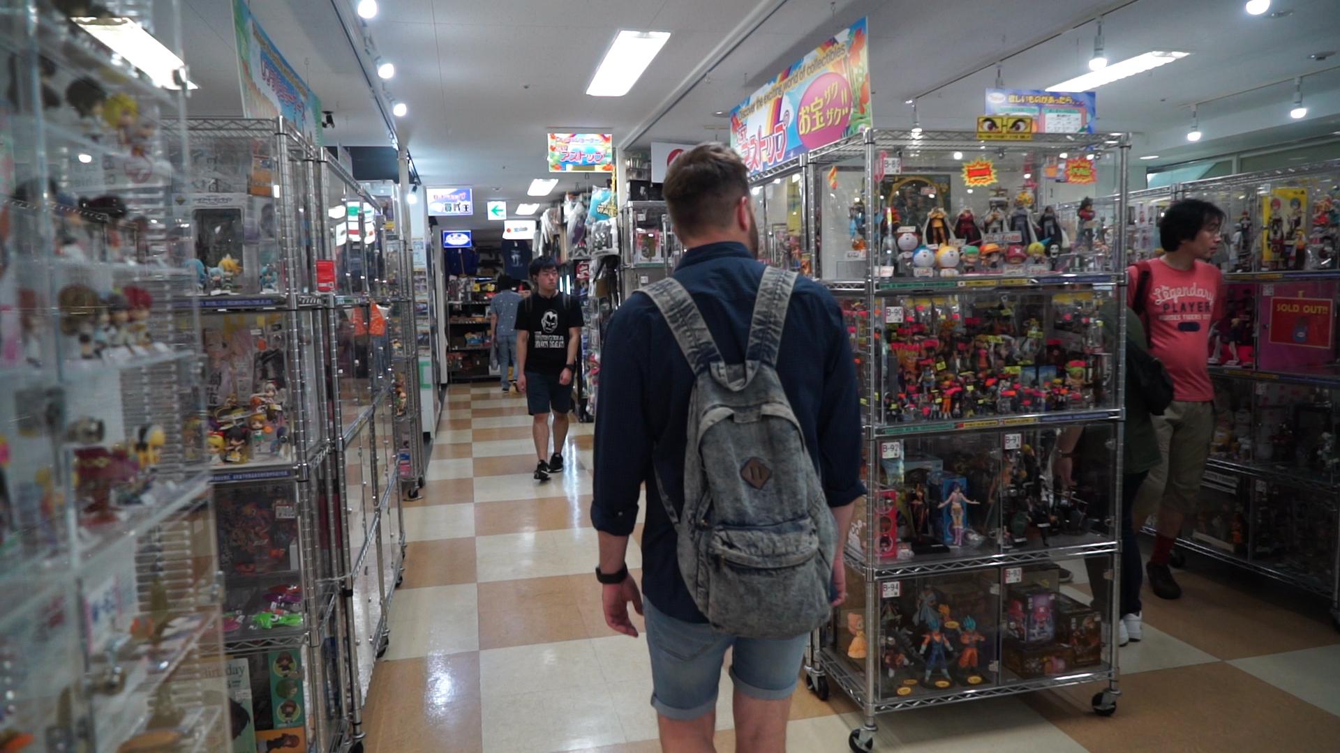 Shopping in Akihabara, Tokyo
