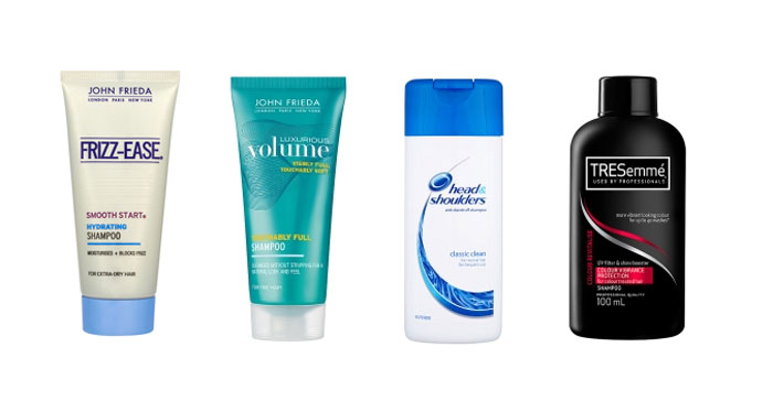 Best shampoos to take on holiday