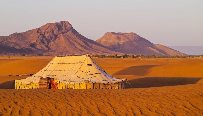 Bedouin Tents & Cross the Sahara Desert (Camel Optional)