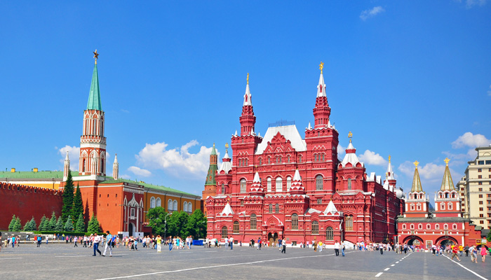 stand in moscow s red square