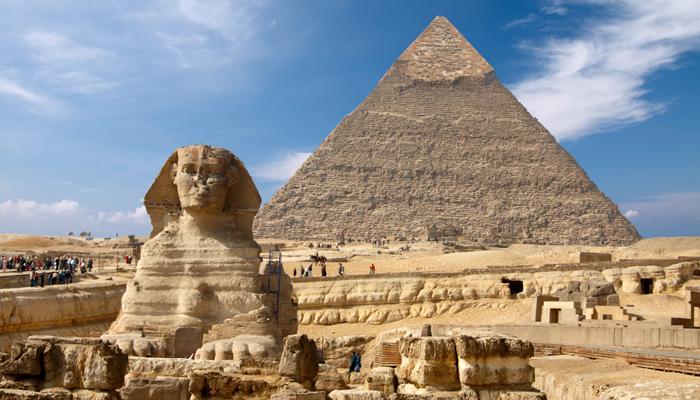 Visit the Pyramids at Giza